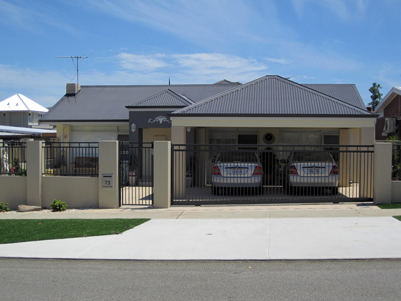 The drafter perth drafter extensions council for Garage extension designs